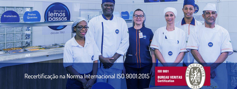LemosPassos renova certificação da ISO 9001:2015